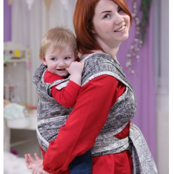 Май-слинг LENNYLAMB Wrap-Tai Carrier Toddler Panorama