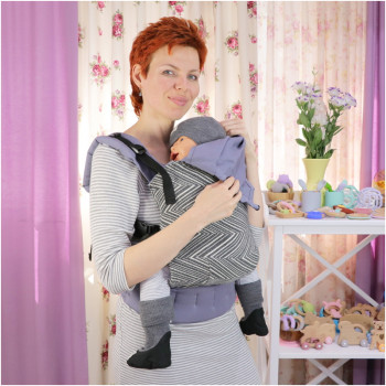 Слинг-рюкзак TOPA-TOP Toddler Chevron