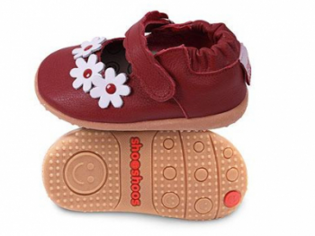Туфли из натуральной кожи SHOOSHOOS Red / F red / flower