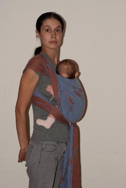слинг-шарф и стремена
