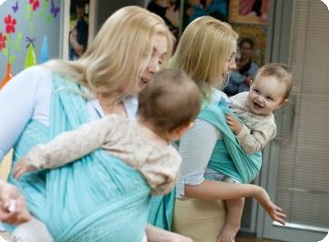 слинг и позвоночник ребёнка