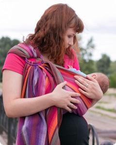 слинг для новорождённого