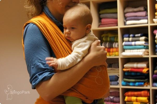 трикотажный слинг-шарф MAM Eco